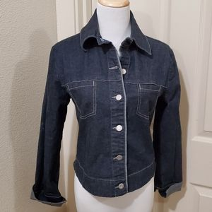 Cutest levis Jean jacket classy and perfect size S